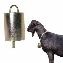 2 продукта коровья лошадь овца оборудование пастбища колокольчики Модернизированная версия большие модели оцинкованная сталь Материал