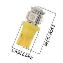 T10 Wedge 5-SMD 5050 Xenon Car LED Light Bulbs 192 168 194 W5W 2825 158 Cool White Lights