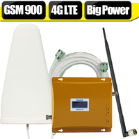 Lintratek LCD Display GSM 900 DCS 1800 Dual Band Mobile Phone Signal Booster Repeater GSM 4G