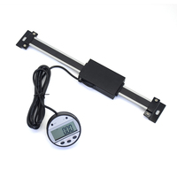 Digital Linear Readout Scale Ruler Vertical Size Optional 0.01mm Magnetic Remote External Display Ruler Machine Tools