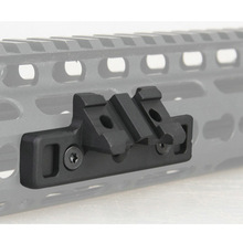High Quality Airsoft Keymod 1913 Offset Adaptive Rail Mounted Weapon Light Mount For Attaching SF M300-600