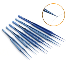 цена на Titanium alloy ophthalmic tweezers fingerprint tweezers are suitable for electronic components and copper wire picking tools