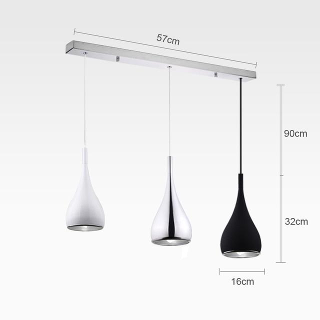 Minimalist Decorative LED Pendant Lights