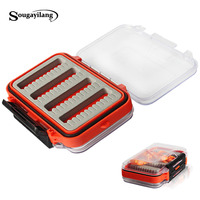 New Arrival Double Side Open Fly Fishing Box Lure Bait Hook Cases ABS Plastic Tackle Boxes