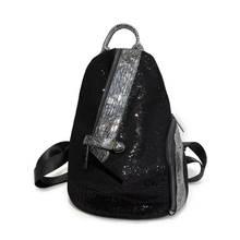 Модный молодежный кожаный рюкзак для женщин школьный ранец девочек