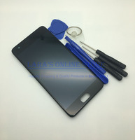 Black White 5 0 Inch Full LCD Display Touch Screen Digitizer Assembly Frame Replacement For Lenovo