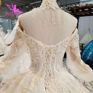 Image 4 - AIJINGYU This SeasonS Wedding Dresses Luxury Dubai Dress Hand Embroidery Designs Gowns Gown Bridal
