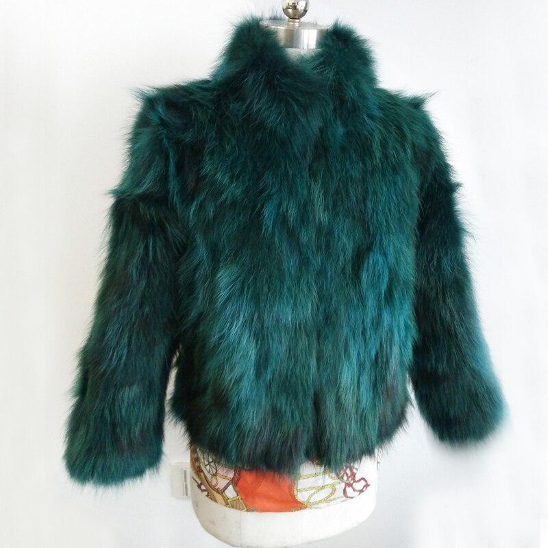 Luxury Genuine Real Raccoon Fur Coat Mandarin Standard Collar Natural Raccoon Fur Jacket Free Customize Big Size Hot Fur TSR53