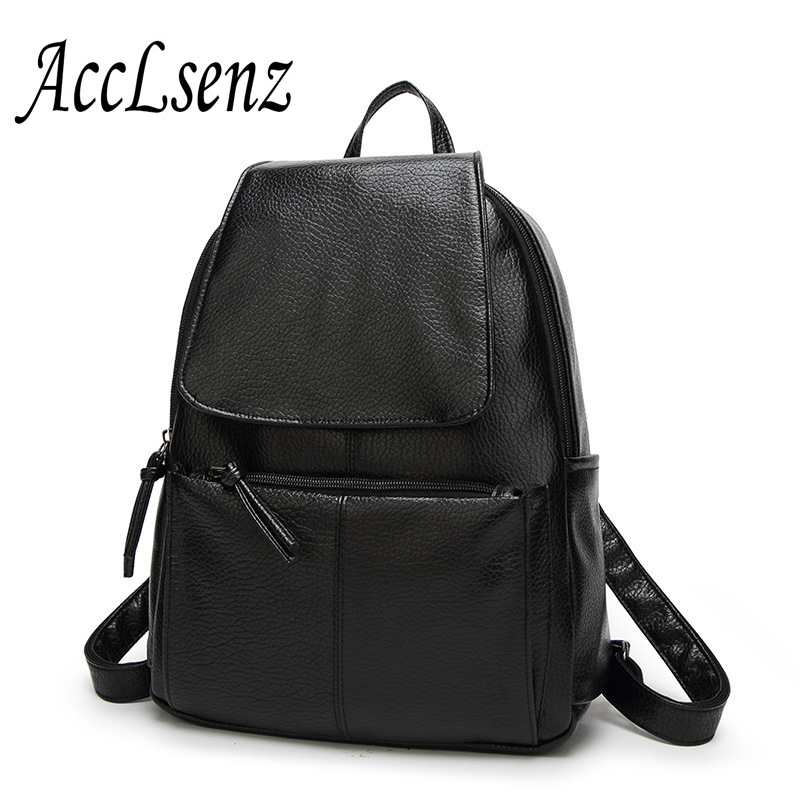 Backpack New Arrival Vintage Women Shoulder Bag Girls Fashion Schoolbag High Quality PU Leather Women Bag