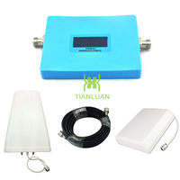 Intelligent Display Dual Band Mobile Phone 2G 3G Signal Booster GSM 900 Mhz W CDMA 2100