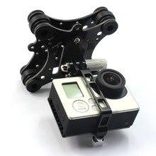 Carbon Fiber Camera Gimbal Mount FPV Damping PTZ for Phantom Quadcopter Multicopter for Gopro Hero 3 Camera Accessory Parts 1004