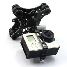 Carbon Fiber Kamera Gimbal Berg FPV Dämpfung PTZ für Phantom Quadcopter Multicopter für Gopro Hero 3 Kamera Zubehör Teile 1004