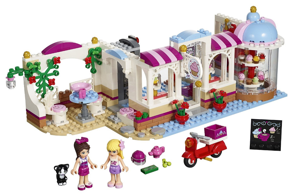 BELA Friends Series Heartlake Cupcake Cafe Building Blocks Classic For Girl Kids Model Toys  Marvel Compatible Legoe simon thompson the political theory of recognition