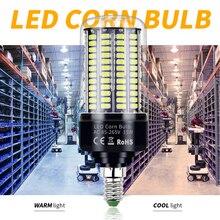 AC 85-265V E27 Super Bright Led Lamp E14 Led Corn Bulb SMD 5736 Smart IC Led Light 28 40 72 108 132 156 189leds Constant Current стоимость