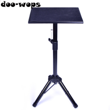 Metal Black Tripod Magic Table Magic Tricks Magician's Table Stage Close Up Street Accessories Height Adjustable Easy To Carry