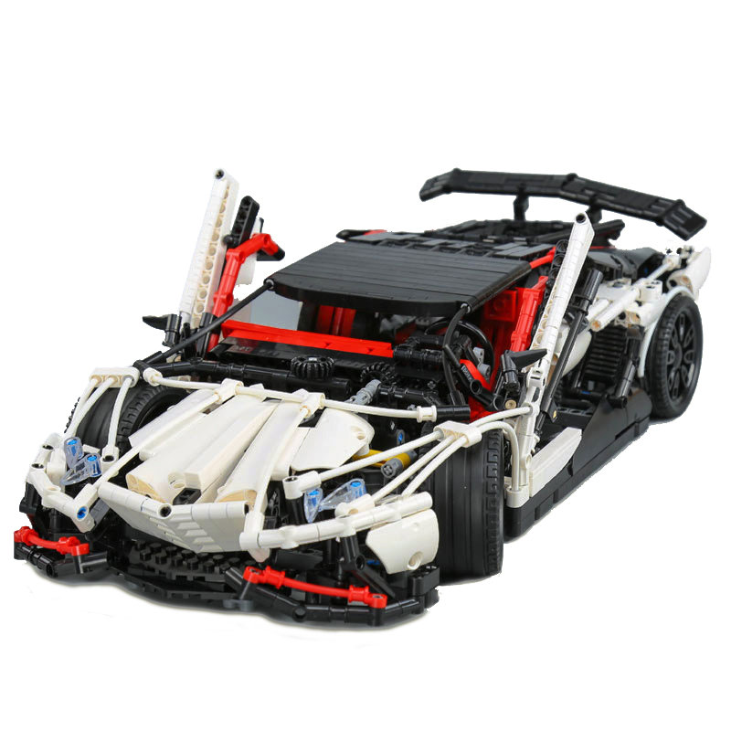 Technic Series MOC the Super Racing Car Set MOC-3918 Model Building Blocks Bricks Educational Toys Christmas Gift