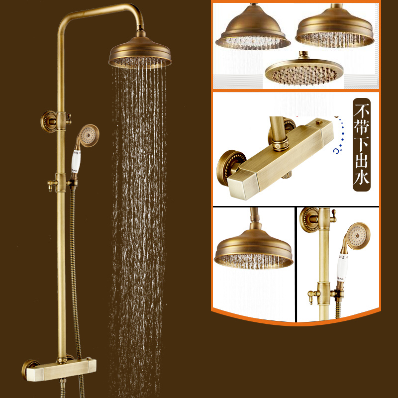 """Buy Brass Thermostatic Mixing Valve Shower Faucet: Aliexpress.com : Buy 8"""" Wall Mount Thermostatic Valve"""