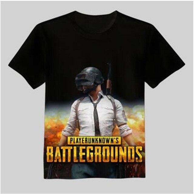 Футболка с принтами игры Playerunknown's Battlegrounds в ассортименте 2 2