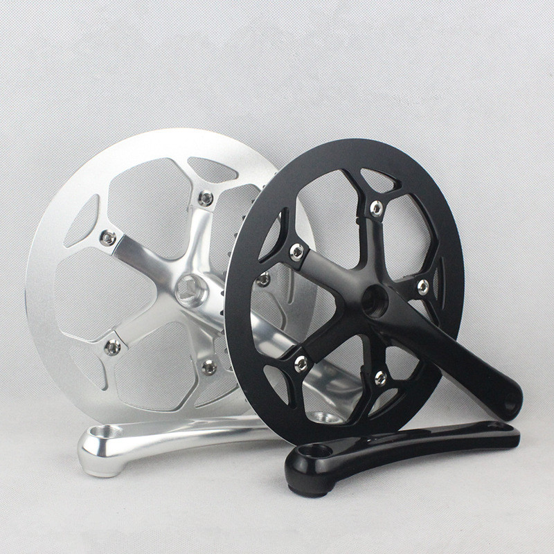 Велосипед кривошипно & Звездочка алюминия CNC 53T*170 мм кривошипно велосипедов Дорожный велосипед chainwheel цепное колесо систем кривошипно велосипедных частей