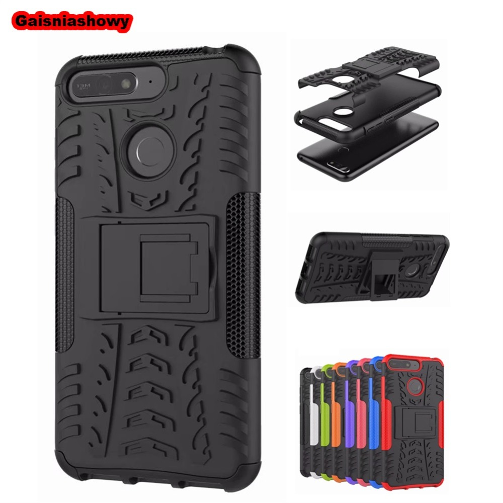 <font><b>Case</b></font> For <font><b>Huawei</b></font> Y6 <font><b>Y5</b></font> Y7 Y9 Prime <font><b>2018</b></font> 2019 Shockproof Armor Phone <font><b>Case</b></font> For <font><b>Huawei</b></font> Honor 8A 8C 8X 8S 20 V10 V20 Cover Coque image