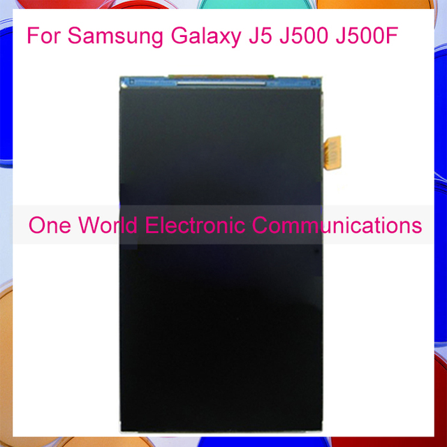 High Quality Tested For Samsung Galaxy J5 J500 J500F J5008 17 pin LCD Display Monitor Screen Panel Tracking Code Free Shipping