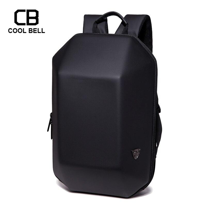 Men Black Backpack 2019 New waterproof School Backpack For Teenage Men Travel Backpacks Fashion Laptop Anti Theft Backpack