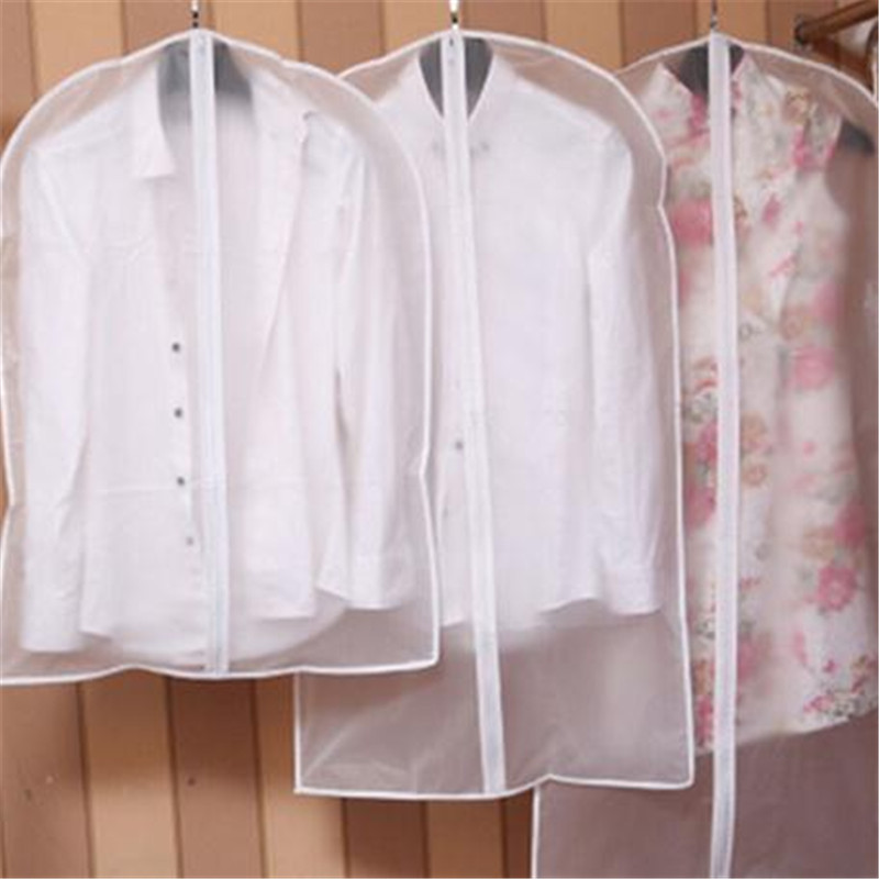Protector Bags Suit Coat Wardrobe Dust-Cover Garment Storage-Bag Transparent Cloth Wholesale