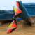 De Color azul $ number pies Quad Línea Cometa Acrobática Kite Profesional Deporte Al Aire Libre fácil de Volar