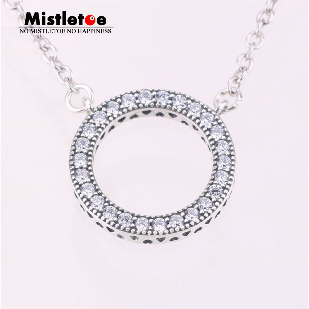Authentic 925 Sterling Silver Hearts Of Brand Clear CZ Rose Plated And Chain Pendant Dangle Charms
