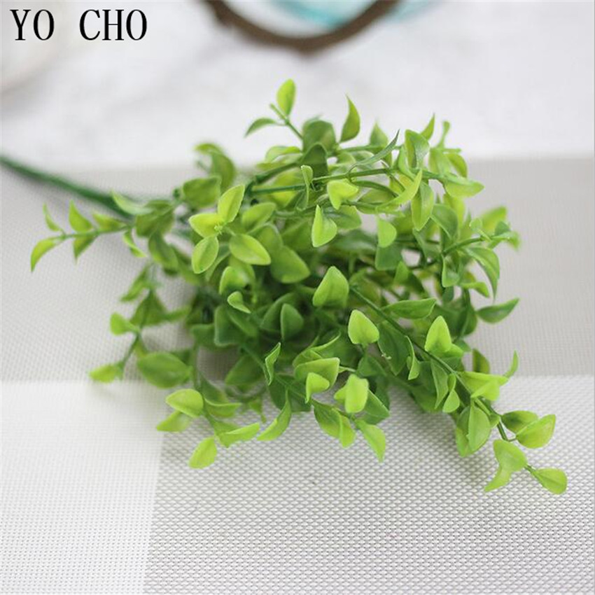 yo cho artificial leaves polyester maple fall leaf for art