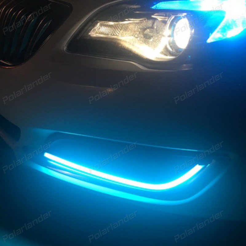 auto part car styling accessory DRL Daytime Running Lights For B/uick R/egal 2013- 2015 Car daylight
