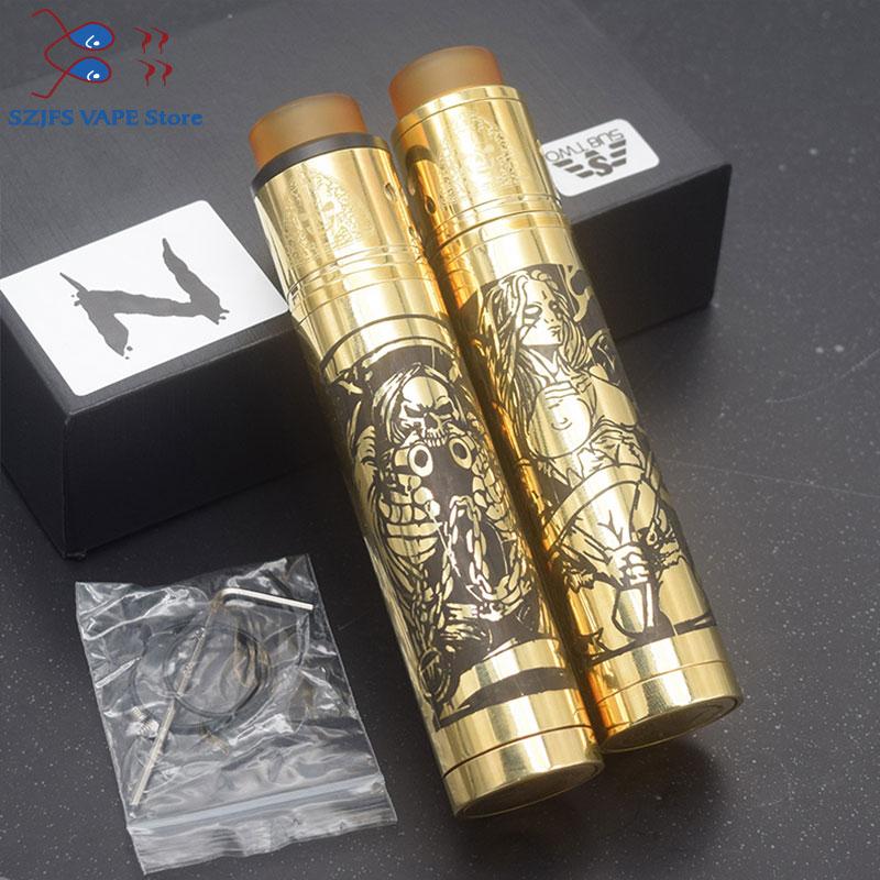 Tower Mods Kit Unique Design Towermodsph Mech Mod Desolator 24mm Adjustable Air Flow E Cigarettes Mechanical Mod Vs Sob Mod Kit