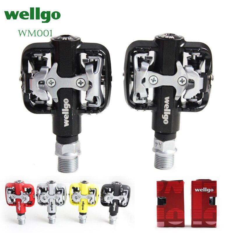 Wellgo WM001 Auto-Verrouillage Clipless De Magnésium VTT pédales de vélo