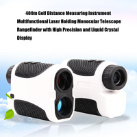 High Precision Golf Distance Measuring Instrument 400m Multifunctional Laser Holding Monocular Telescope Rangefinder