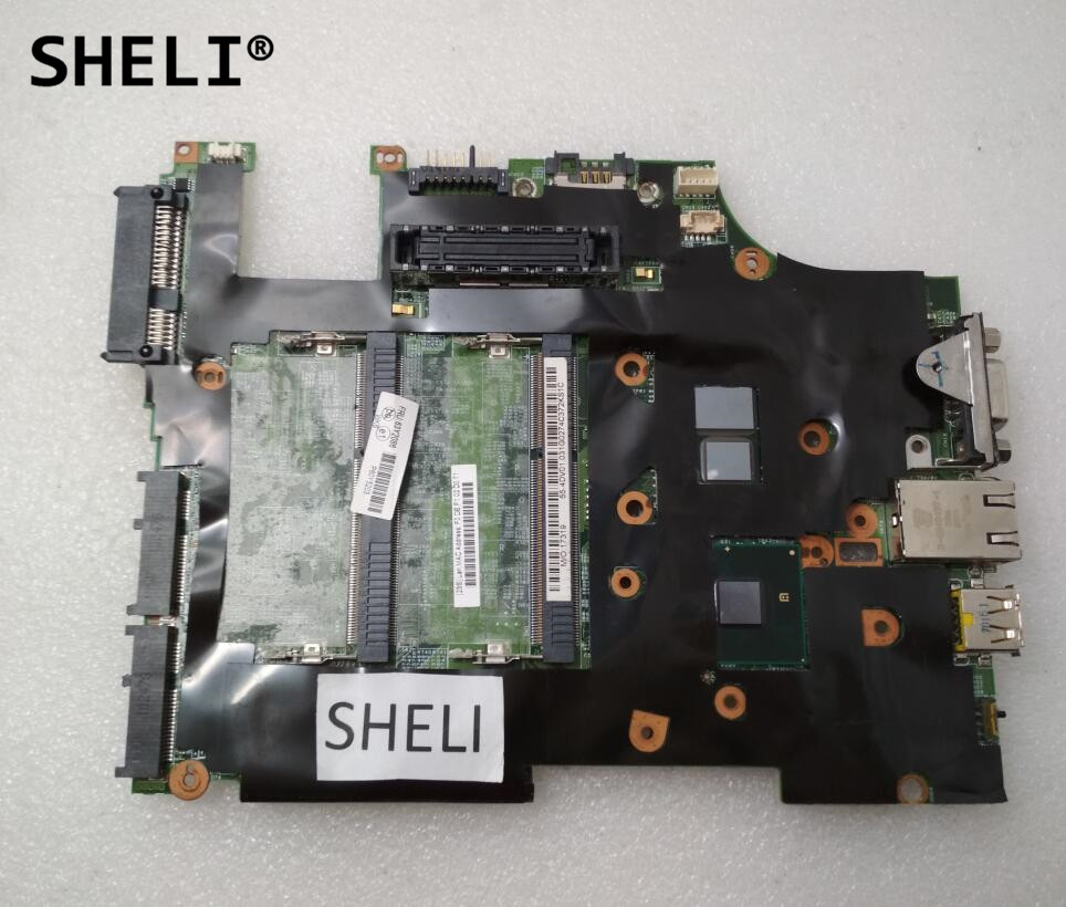 SHELI FRU: 63Y2086 For Lenovo X201T Motherboard With I7-640