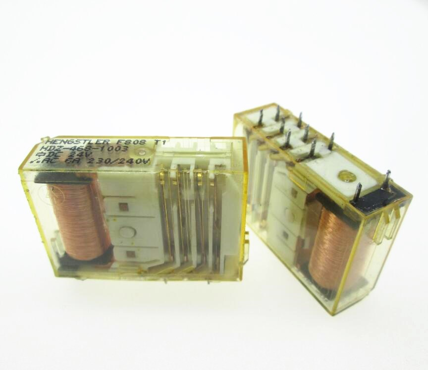 Safety 24V relay HDZ-468-1003 HDZ4681003 HDZ-468 468-1003 24VDC DC24V 24V DIP10 2pcs/lot смеситель на борт ванны bravat gina f565104c 2 rus