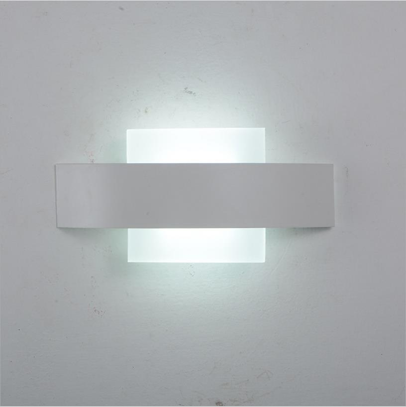 New Store Promotion LED Wall Light Living Sitting Room Foyer Bedroom - Square bathroom sconce