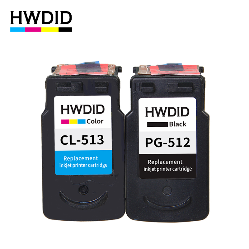 2Pack PG 512 pg512 CL 513 ink cartridge for Canon PG 512 CL 513 used for