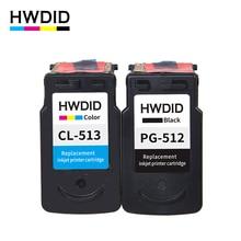 2 Pack PG 512 pg512 CL 513 tintenpatrone für Canon PG-512 CL-513 verwendet für Canon MP240 MP250 MP270 MP230 MP480 MX350 IP2700
