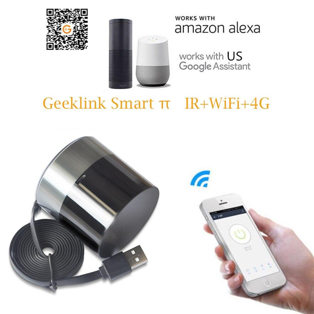 Geeklink Smart Home, Casa Intelligente WIFI + IR + 4G Telecomando per iOS Android APP di Controllo di Voce di Lavoro con Alexa Google casa US EU AU Spina BRITANNICA