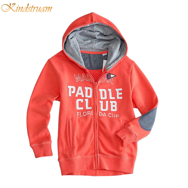 2016 Active Sports Hoodies for Boys & Girls Letter Printed Children Hooded Coats Spring & Fall Kids Brand Outerwear, HC737