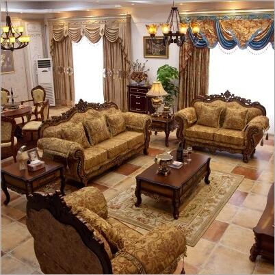 Mobili soggiorno moderno divano in tessuto divano set Europeo 10246Mobili soggiorno moderno divano in tessuto divano set Europeo 10246