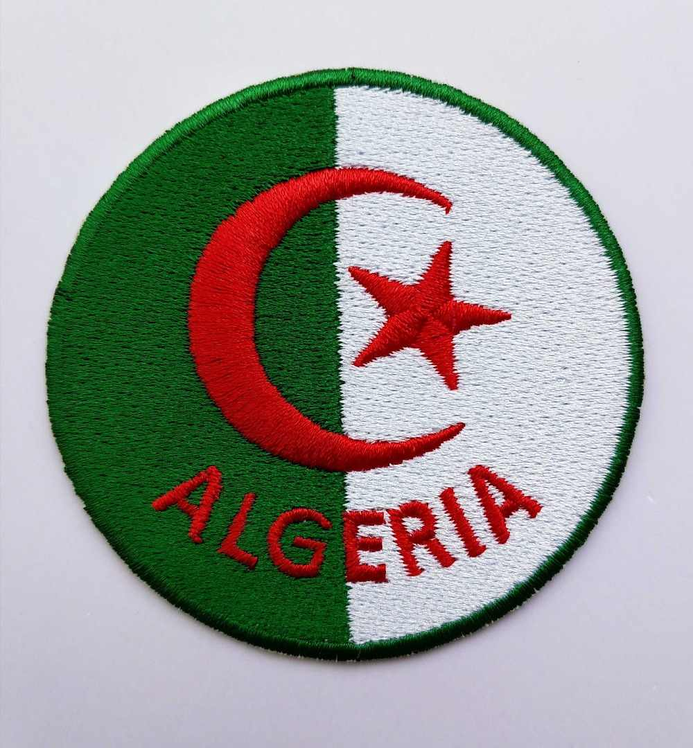 2pcs Lot Football Soccer Fussball National Team Algeria Logo