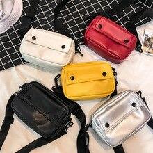 DikizFly Small Women Bag Fashion Handbag 2019 Casual Mini Purse PU Leather Female Shoulder Bag Women Messenger Bags Sac Hot Sale все цены