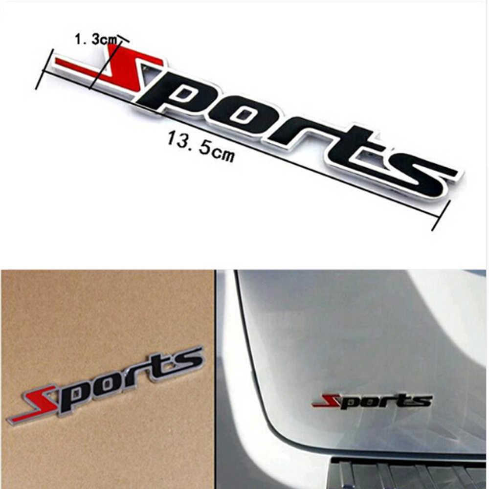 Автомобильный Стайлинг 3D металлические спортивные наклейки автомобильные аксессуары для volkswagen golf 5 amg vw b5 audi a6 opel insignia фокус mk1 galaxy saab