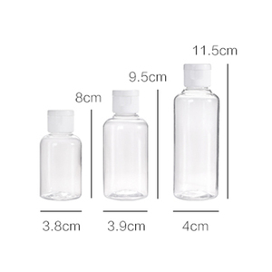 Image 5 - JiangChaoBo Portable Travel Cosmetics Lotion Bottle Hand Sanitizer Shampoo Bottles Shower Gel Bottles Sample Bottles