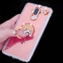 Honor 9 Funda Honor 10 8 Lite Cover Diamond Ring Mirror Soft TPU Silicone Case For Coque Huawei Honor 7 7X 5X 6A 6X 6C V8 V9 V10 dreamfox m155 wu tang killa bees hip hop soft tpu silicone case cover for huawei honor 6a 6c 6x 7a 7c 7s 7x 8 lite pro