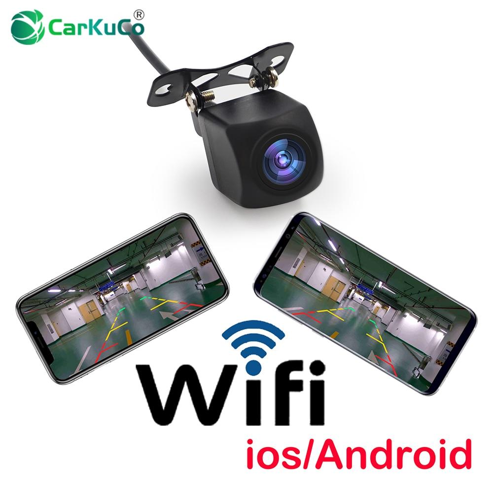Caméra de recul WIFI caméra de recul caméra de recul pour voiture avec Vision nocturne caméra de recul Mini tachygraphe étanche pour iPhone Android