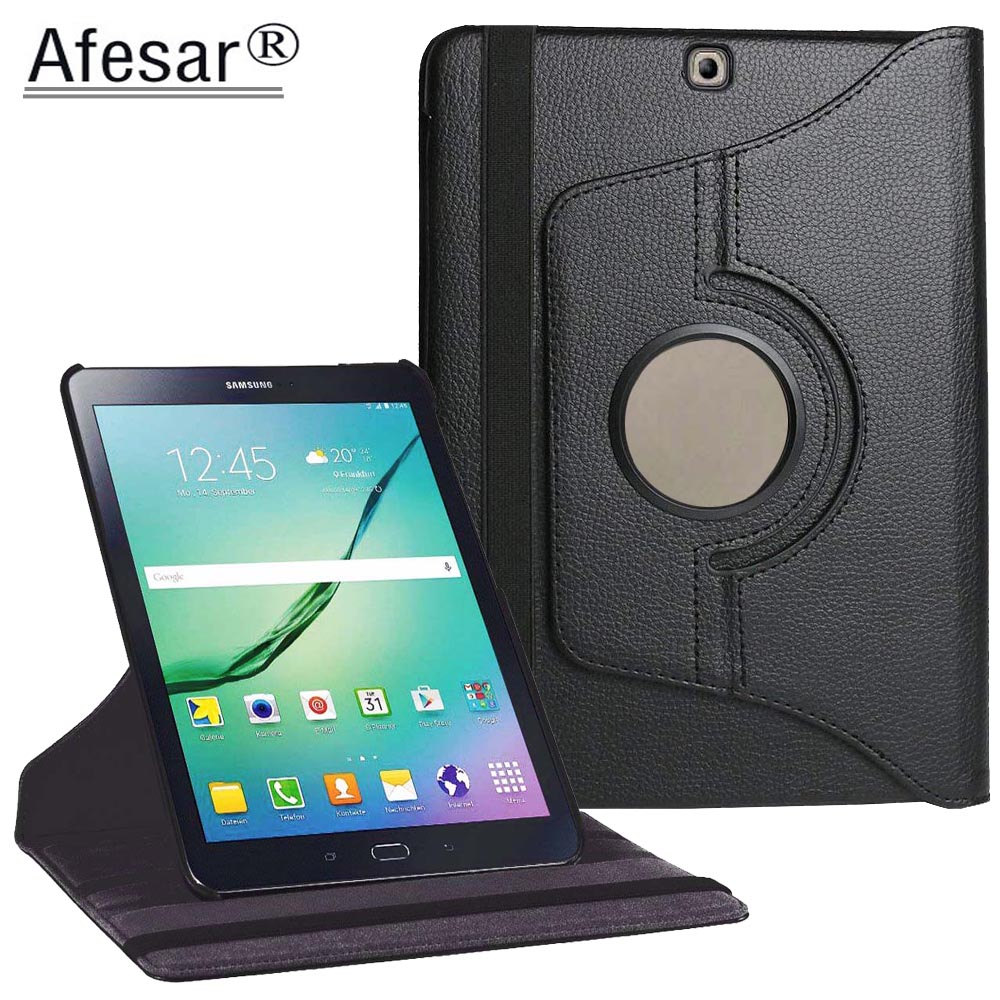 Tab S2 SM-T810 T813 T815 T819 Case Luxury 360 Rotating Smart Premium PU Leather Cover For Samsung Galaxy Tab S2 9.7 Tablet case for tab s2 sm t810 kids safe shockproof heavy duty silicone hard case cover for samsung galaxy tab s2 9 7 t810 t815 hand hold