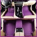 Автомобильные Коврики Охватывает высший сорт царапинам огнестойкие прочный водонепроницаемый 5D кожа коврик для toyota, Camry, Corolla, Укладка